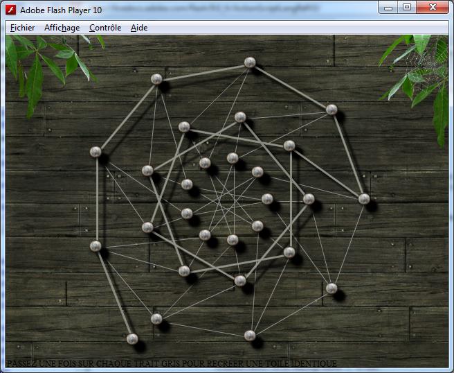 Capture de la version Beta d'Icosien