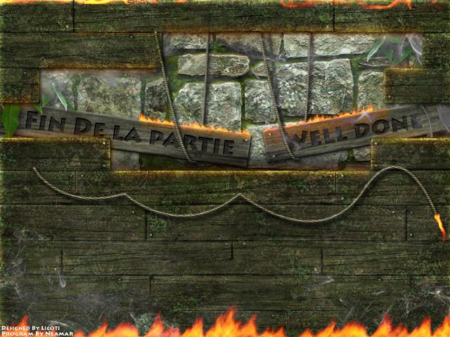 Image de fin du jeu Icosien